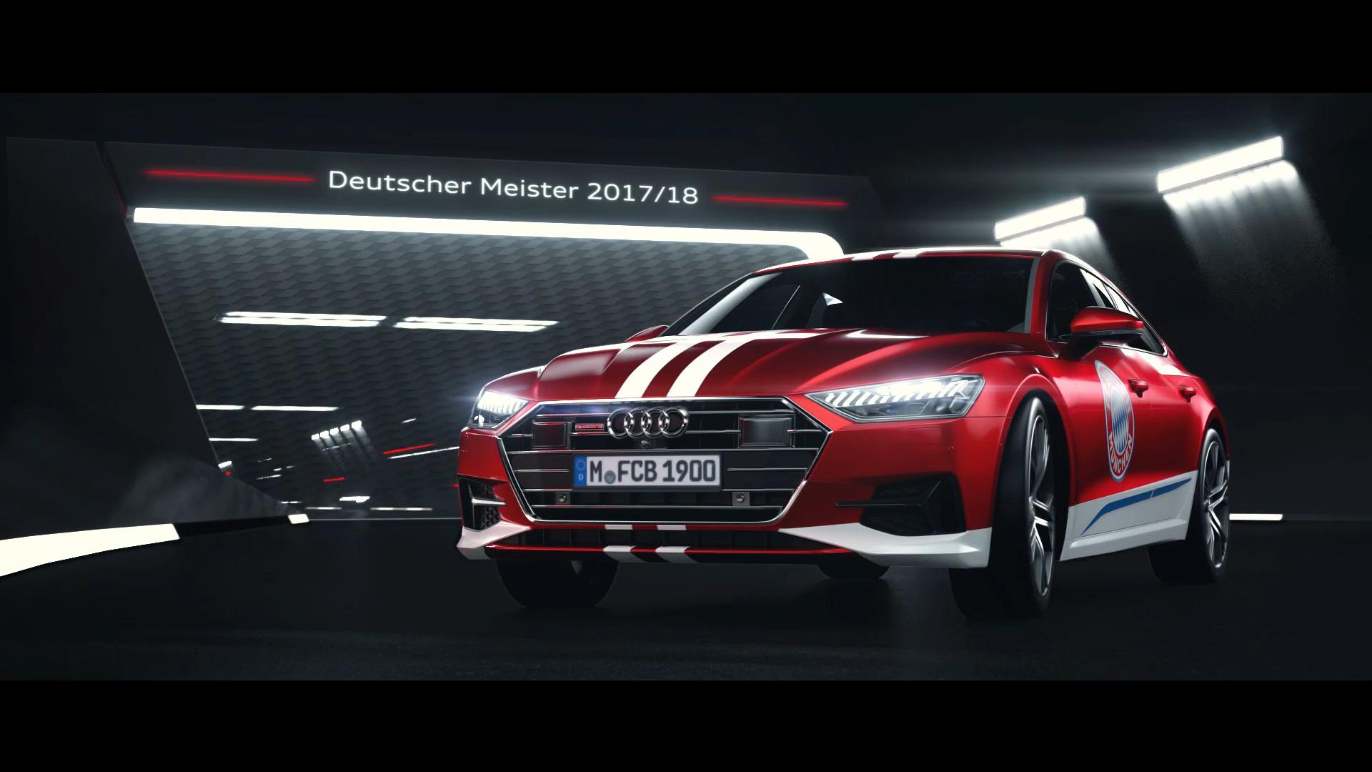 Audi - FC Bayern Mu00fcnchen - Deutscher Meister 201718 (01672)